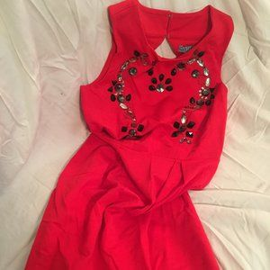 Cynthia by Cynthia Rowley red dress
